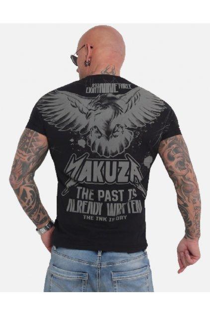 Pánské triko Yakuza Dry Ink TSB 16026 černá obr1