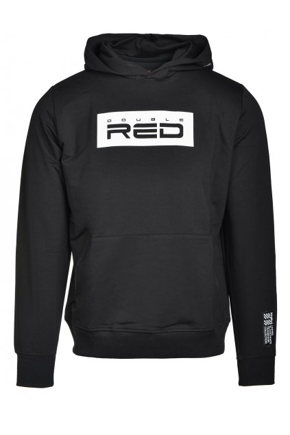 red hoodie blackwhite collection