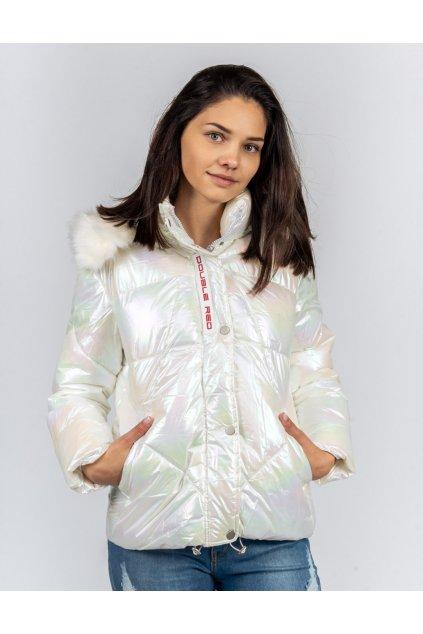 Dámská zimní bunda Double Red TELLURIDE Jacket White Pearl obr1