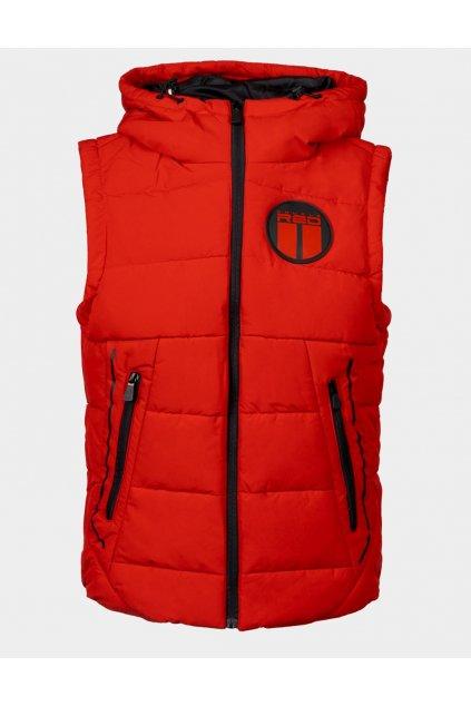 Pánská zimní vesta Double Red WHISTLER Vest Red obr1