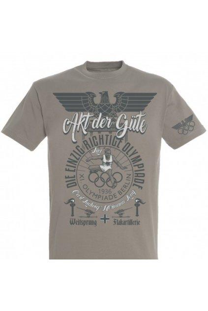 """Pánské triko Berlin 1936 """"LUZ"""" obr1"""