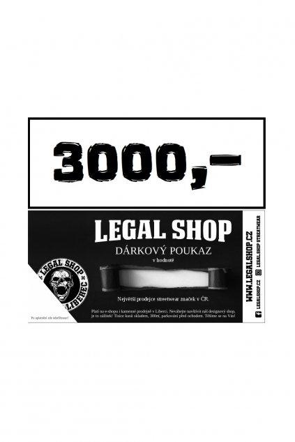 Dárkový poukaz - ELEKTRONICKÝ - 3000Kč obr1