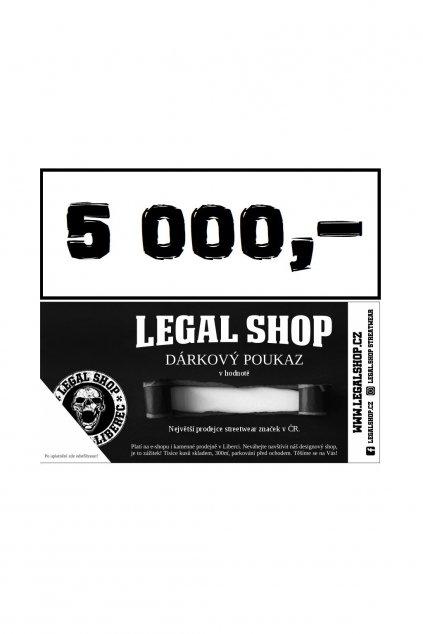Dárkový poukaz - ELEKTRONICKÝ - 5000Kč obr1