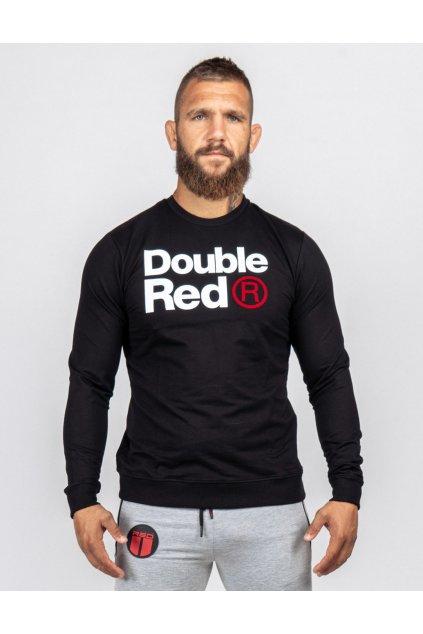 Pánská mikina Double Red FABULOUS Black obr1