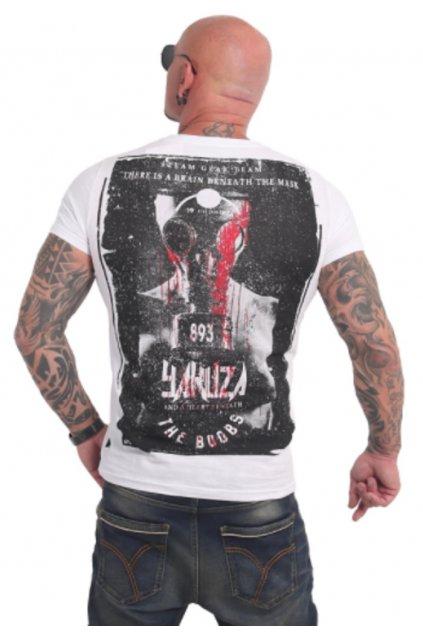 Pánské triko Yakuza Boobs TSB 17021 bílá obr1