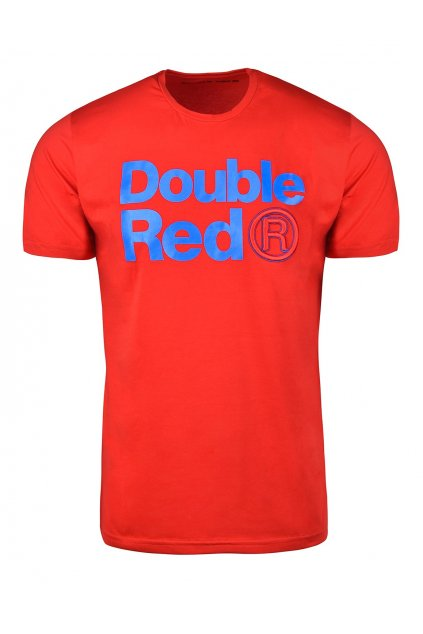 Pánské triko Double Red Trademark Red Blue obr1