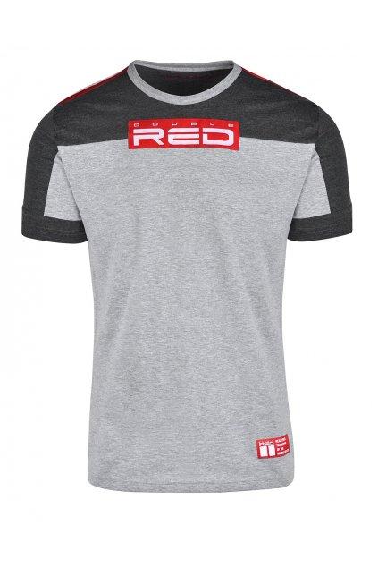 Pánské trikoDouble Red GLORIOUS Grey obr1