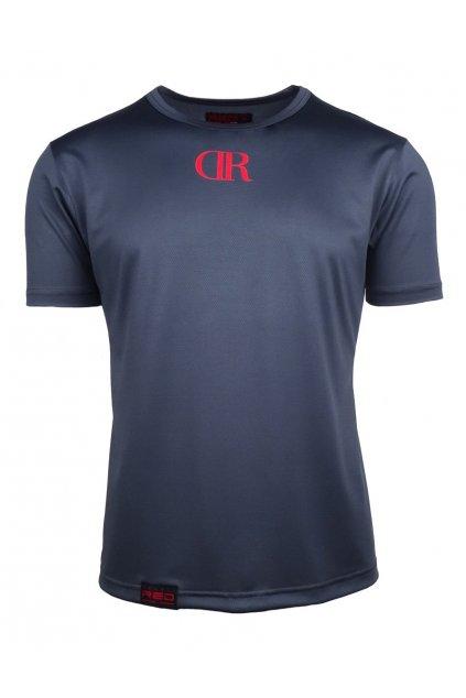 Pánské triko Double Red M Tech Grey obr1