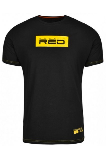 Pánské triko Double Red LOGO VISION KUNG FU Master Black obr1