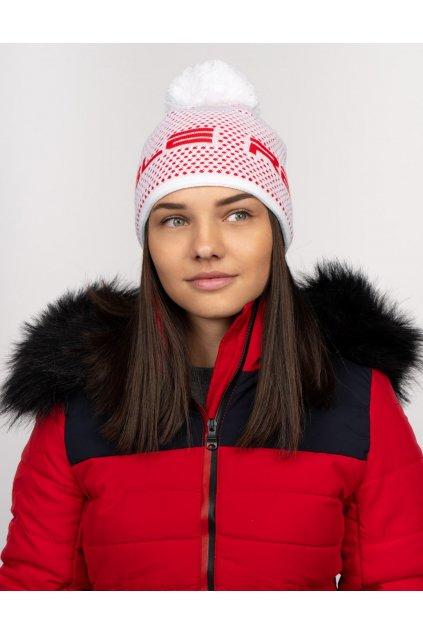 Zimní čepice Double Red NISEKO Red snow unisex obr1