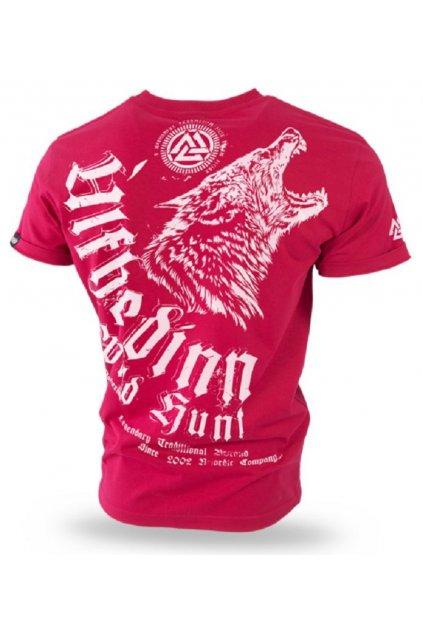 Pánské triko DOBERMANS ULFHEDINN červená obr1