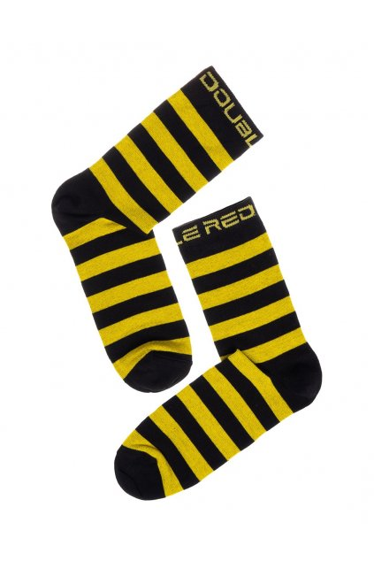 Ponožky DOUBLE RED FUN Socks WASP obr1