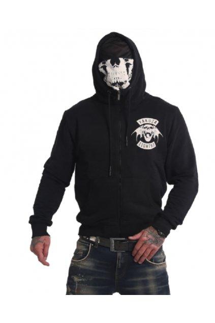 Pánská mikina s kapucí 893MC Ninja Zip HZB 16086 black