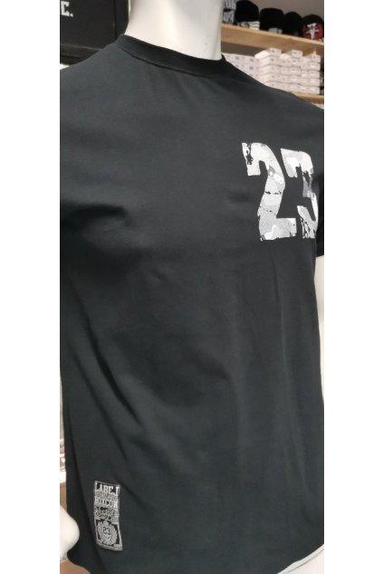Pánské triko Label 23 černé