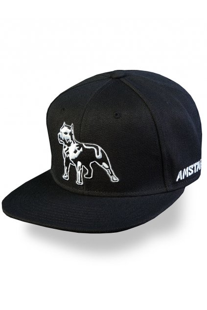 amstaff timus snapback cap schwarz