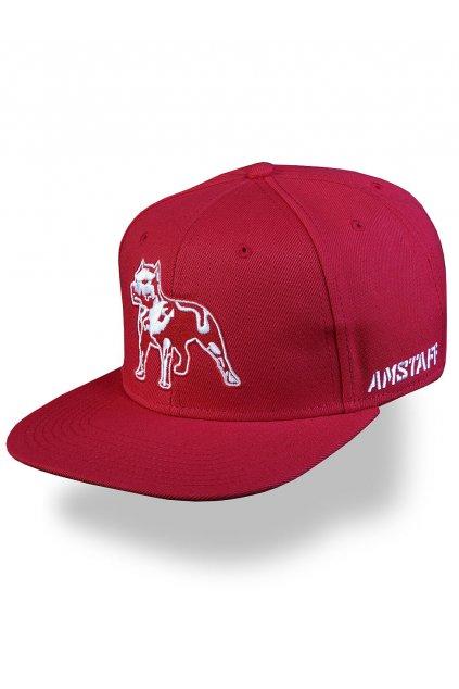Pánská kšiltovka Amstaff Timus Snapback Cap - rot