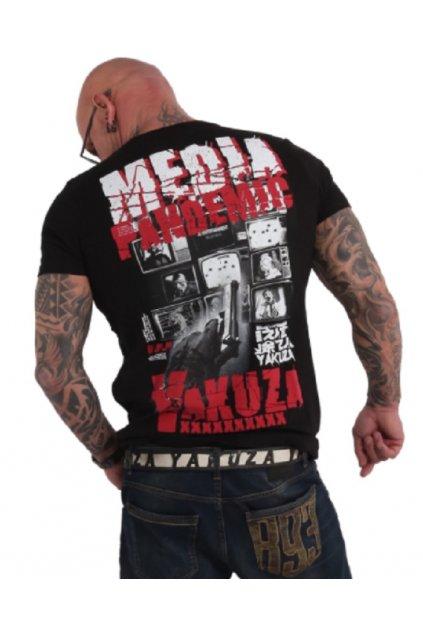 Yakuza pánské triko TSB 17086 Pandemic záda
