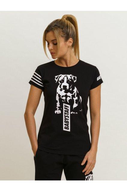 Babystaff dámské triko Juet - černé