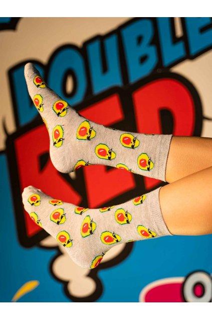 Ponožky DOUBLE RED FUN Socks ThugLife Avocado