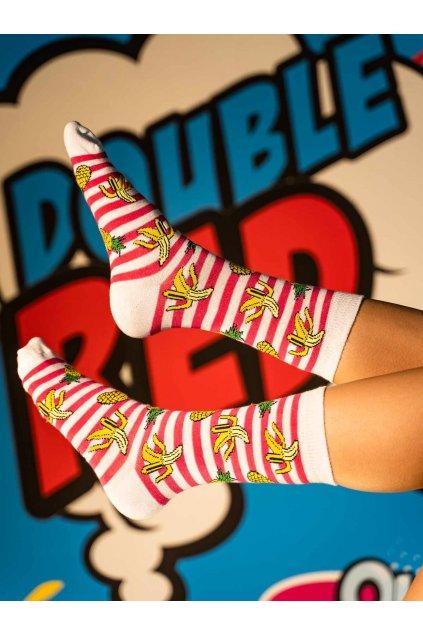 Ponožky DOUBLE RED FUN Socks Havana