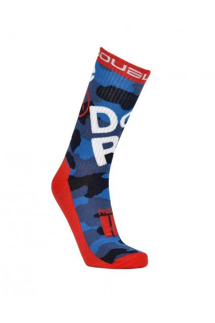 Ponožky THE RED SOCKS TRADEMARK Blue Camo