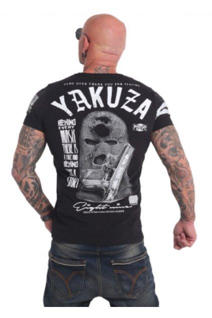 yakuza panske triko tsb 17033 black