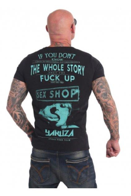 yakuza panske triko tsb 17022 black