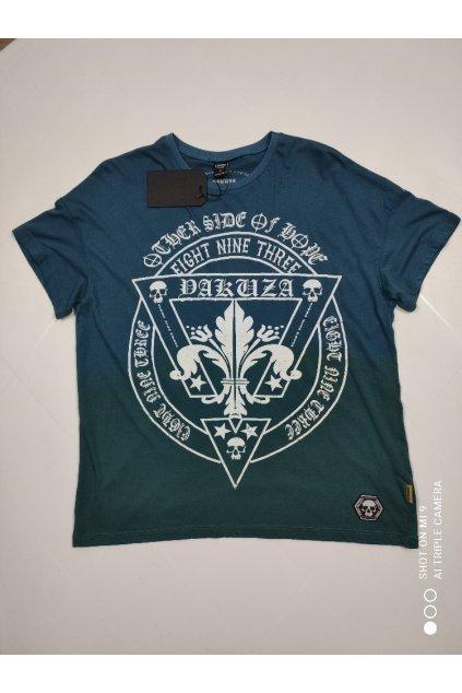 Dámské triko Yakuza Erb Skull tmavě modrá