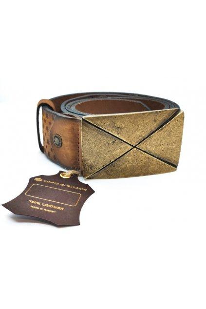 Pánský pásek CIPO & BAXX CG155 brown