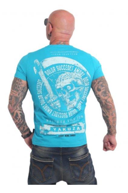 yakuza panske triko tsb17037 scuba blue záda