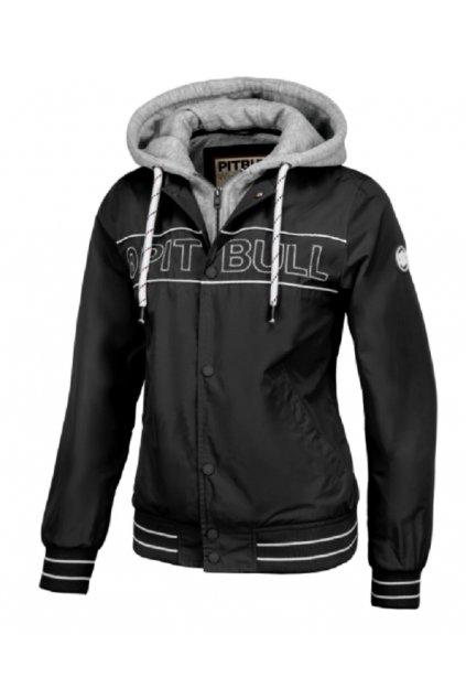 PitBull West Coast - dámská letní bunda  SOLANA 2 černá