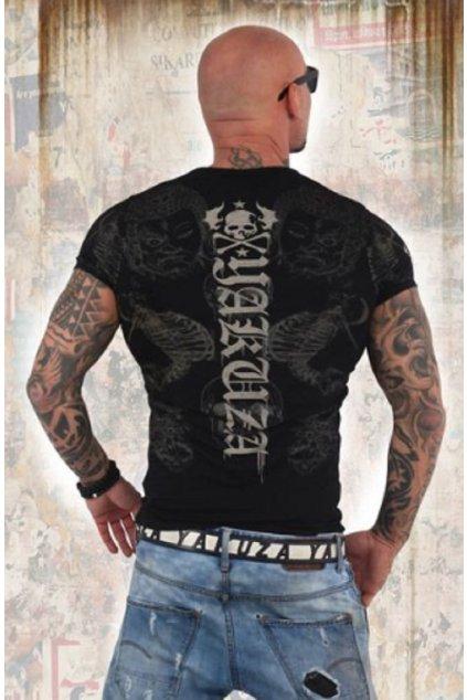 Pánské triko Yakuza TSB 13035 Black obr1