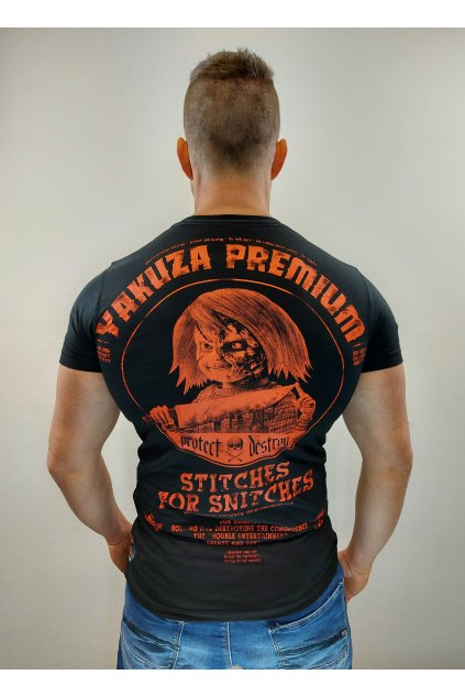 Pánské Triko Yakuza Premium 3019 Black