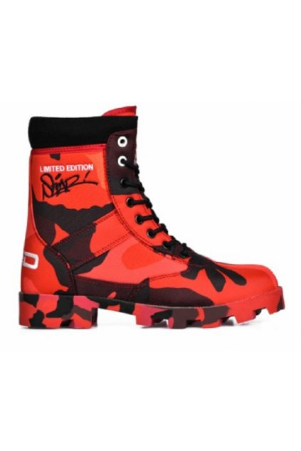 Boots RED HELL SEPAR Edition obr1