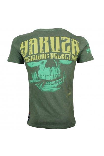 yakuza premium panske triko 3018 zelena