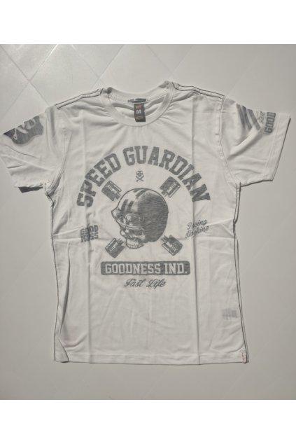 Pánské triko Goodness Industries Guardian bílá