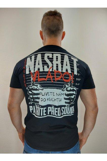 Legal Life pánské triko NASRAT! černá