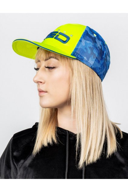 Kšiltovka DOUBLE RED NEON STREETS COLLECTION Cap Yellow
