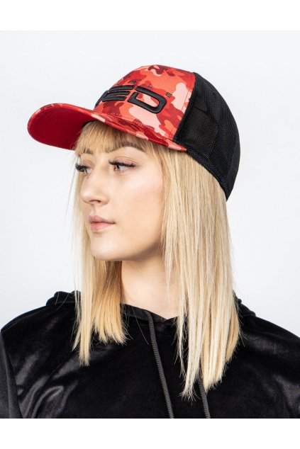 Kšiltovka DOUBLE RED RAPID CAMODRESSCODE RED HELL Cap
