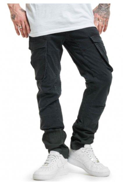 yakuza panske cargo kalhoty cpb 17052 cerna