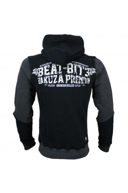 Yakuza Premium pánská mikina s kapucí California 3121 černá