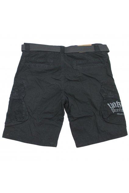 Yakuza Premium pánské nákladní šortky 3063 černé