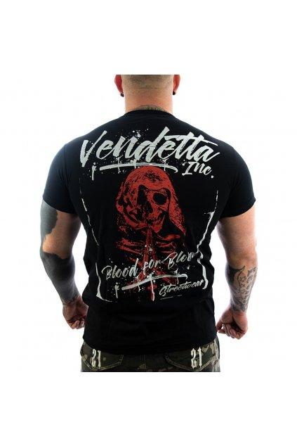 Pánské Tričko Vendetta Inc. Brawler black 1147