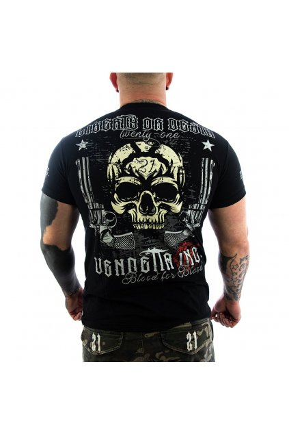 Pánské Tričko Vendetta Inc. Liberty or Death black VD-1148 black