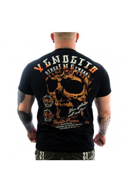 Pánské Tričko Vendetta Inc.Nightmare black  VD-1141
