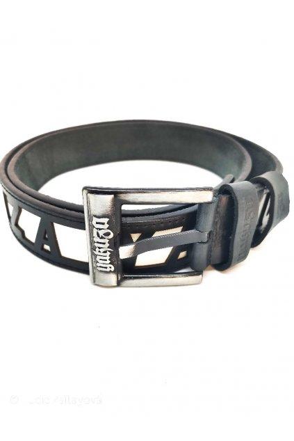 Kožený pásek GB 10203 černý