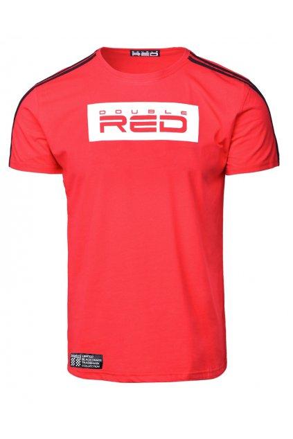 Pánské tričko Double Red B&W DR20321 red