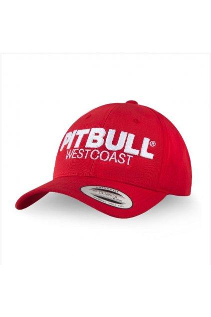 PitBull West Coast - kšiltovka snapback Classic TNT červená obr1