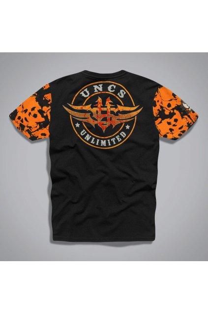 21l063ptri triko unlimited skull black orange back bckg3