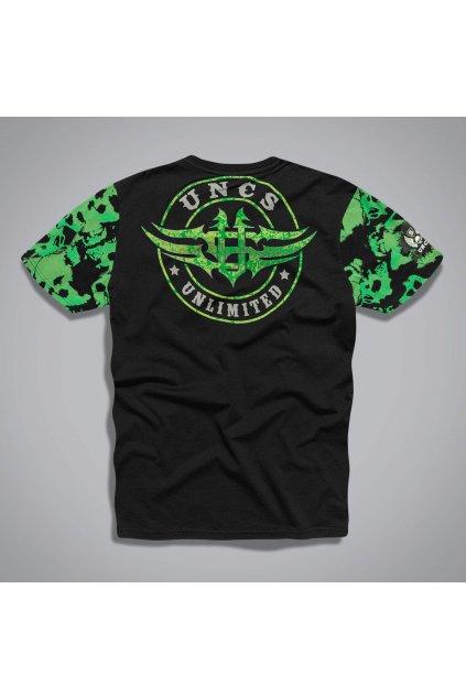 21l064ptri triko unlimited skull black green back bckg3